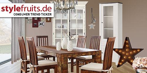 consumer trend ticker rustikal und. Black Bedroom Furniture Sets. Home Design Ideas
