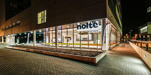 nolte k chen flagship store in tallinn. Black Bedroom Furniture Sets. Home Design Ideas