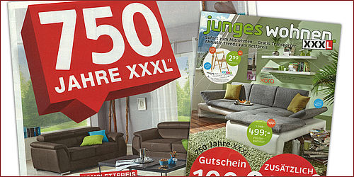 xxxlutz kontert mit kompetenz aus 750 jahren. Black Bedroom Furniture Sets. Home Design Ideas