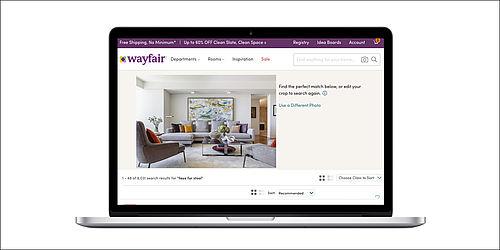 wayfair launcht visuelle suchfunktion
