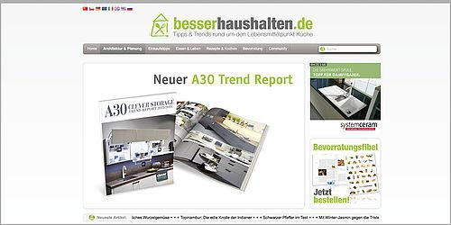 kesseb hmer lookbook zu den k chentrends. Black Bedroom Furniture Sets. Home Design Ideas