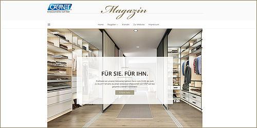 cabinet launcht unternehmensblog. Black Bedroom Furniture Sets. Home Design Ideas