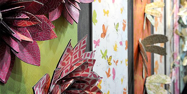 heimtextil tapeten im rampenlicht. Black Bedroom Furniture Sets. Home Design Ideas