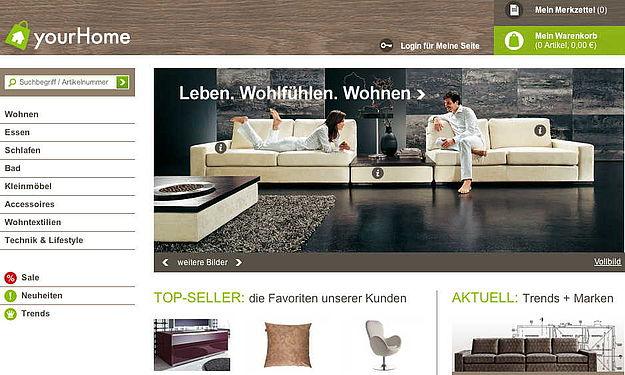 otto startet online shop. Black Bedroom Furniture Sets. Home Design Ideas