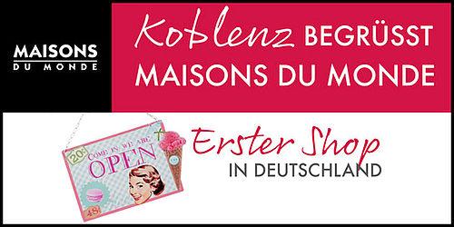Maisons Du Monde Erster Shop In Deutschland Weitere