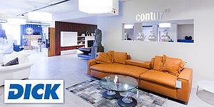 m bel dick investiert in die logistik. Black Bedroom Furniture Sets. Home Design Ideas