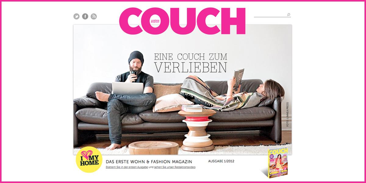 couch gruner jahr ver ffentlicht neues wohn und fashion magazin im pocketformat. Black Bedroom Furniture Sets. Home Design Ideas