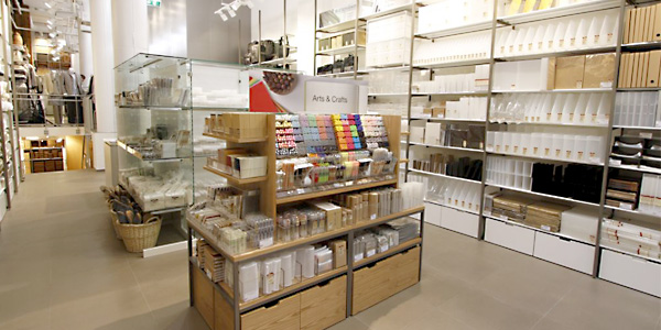 muji weiterer store in deutschland steht in den. Black Bedroom Furniture Sets. Home Design Ideas