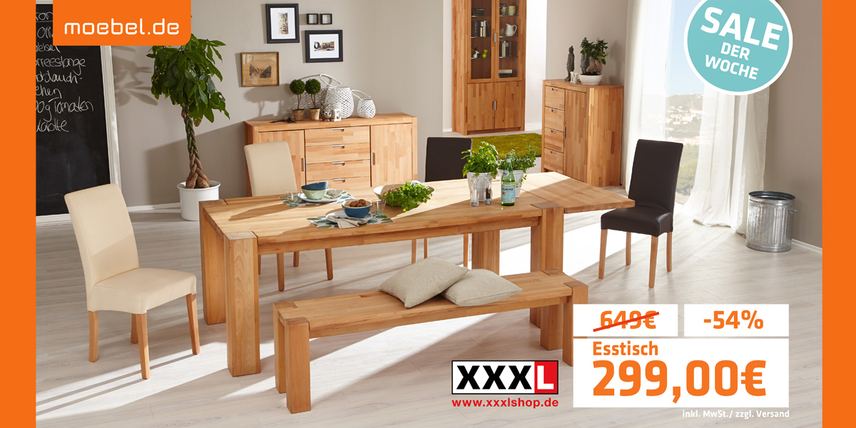 tv kampagnen von s bis xxxl bringt seine onlineshop partner ins fernsehen. Black Bedroom Furniture Sets. Home Design Ideas
