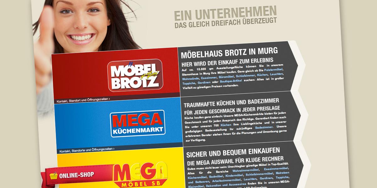 Brotz Gruppe - Neuer Mega Möbel SB-Markt in Stuttgart - moebelkultur.de