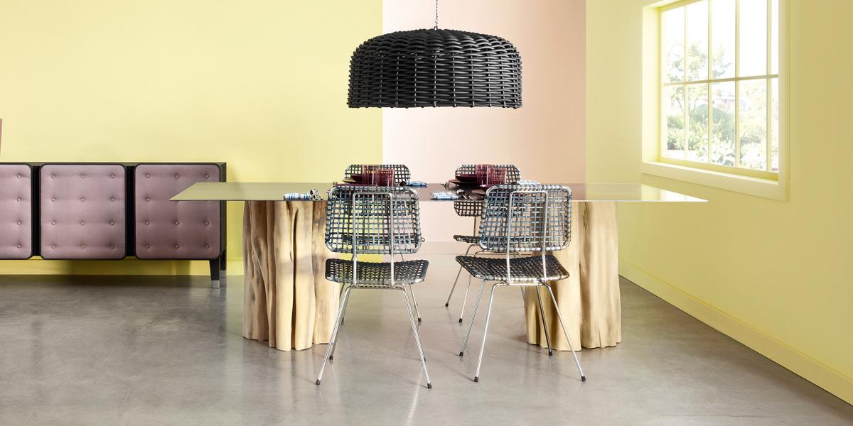 die w scherei ausstellung mit gervasoni klassikern. Black Bedroom Furniture Sets. Home Design Ideas