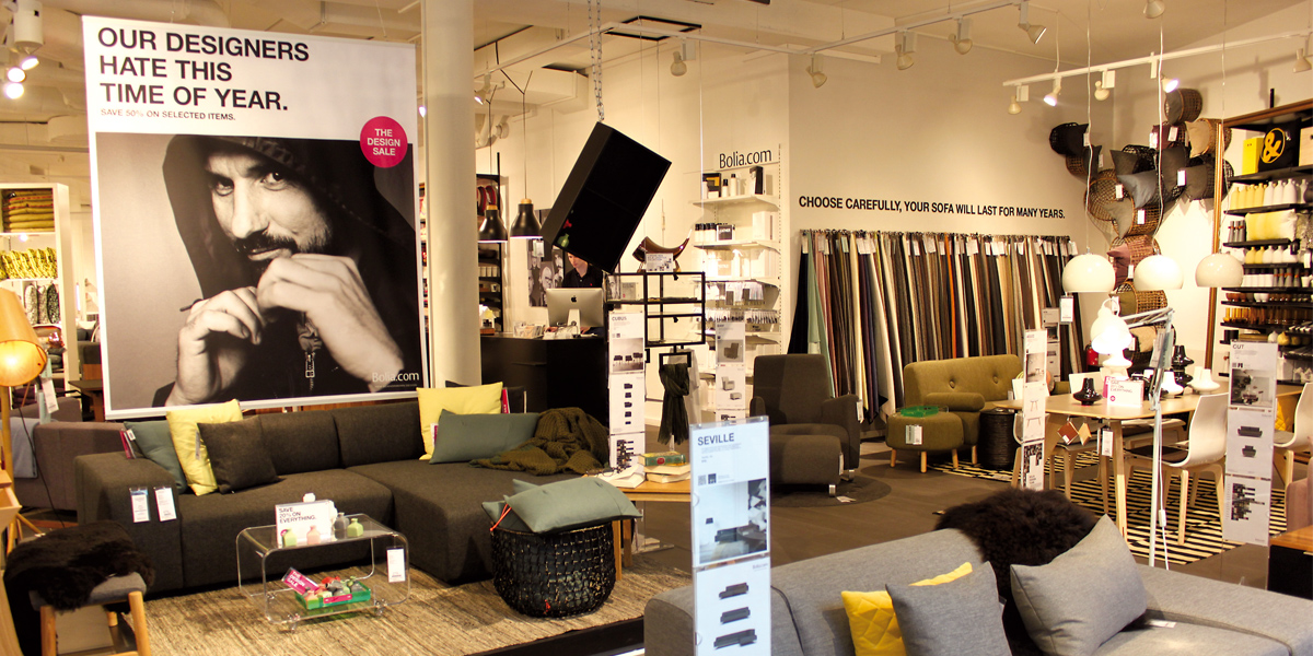 bolia zweiter store f r berlin. Black Bedroom Furniture Sets. Home Design Ideas
