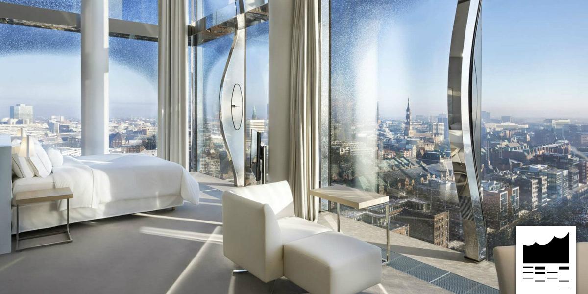 elbphilharmonie ein ausblick mit zimmer im the westin hotel. Black Bedroom Furniture Sets. Home Design Ideas