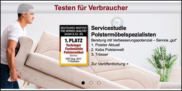Deutsches Institut für Service-Qualität - Servicestudie: Polster ...