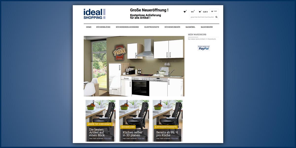 Idealshopping de alfred barths onlineshop für küche und bad moebelkultur de