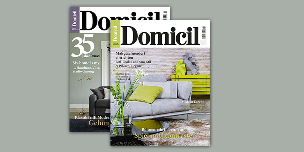domicil das magazin wird 2015 eingestellt. Black Bedroom Furniture Sets. Home Design Ideas