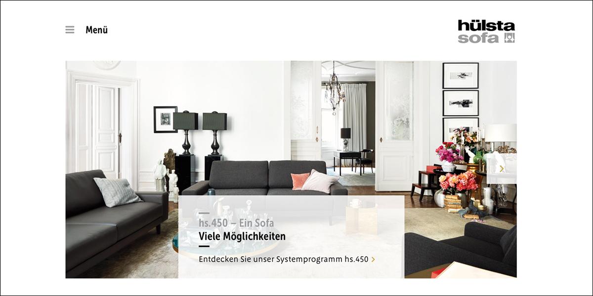 Hülsta - Sofa-Homepage ist online - moebelkultur.de