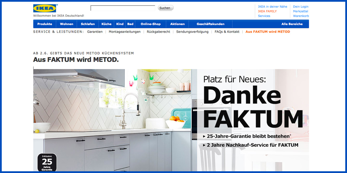 ikea ab juni kommt die neue rasterk che metod nach deutschland. Black Bedroom Furniture Sets. Home Design Ideas