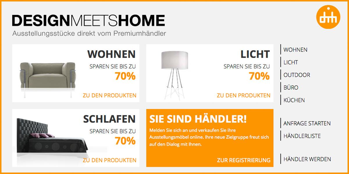 design meets home neues gesicht f r das premium portal. Black Bedroom Furniture Sets. Home Design Ideas