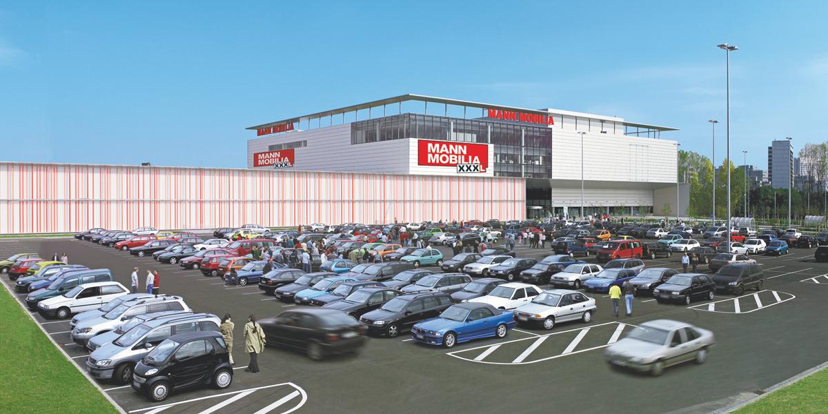 Xxxl mann mobilia neun mio euro umbau in eschborn for Xxxlmannmobilia