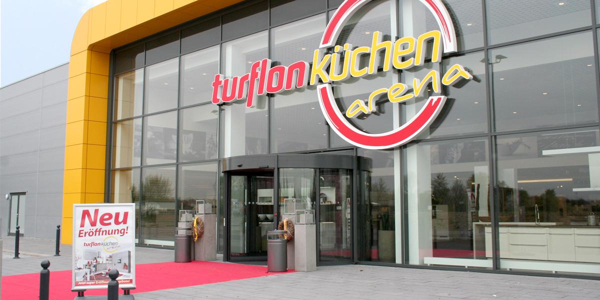 turflon neue küchen arena mit vielfalt auf 5 000 qm