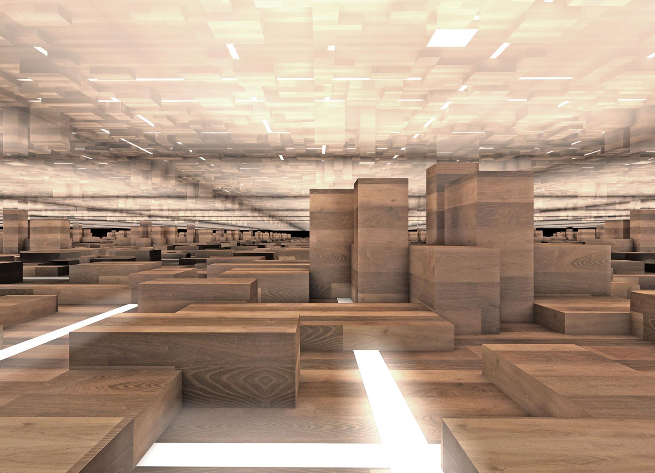bauwerk architekten und designer erfinden parkett neu. Black Bedroom Furniture Sets. Home Design Ideas
