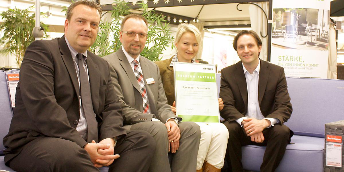 Dodenhof - Doppelte Auszeichnung für den Gartenmöbel-Bereich ...