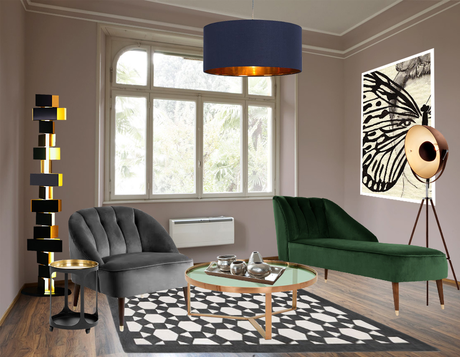retro und vintage zwei wohnstile inspiriert von der vergangenheit, vintage style möbel wohnzimmer | lamictals, Design ideen