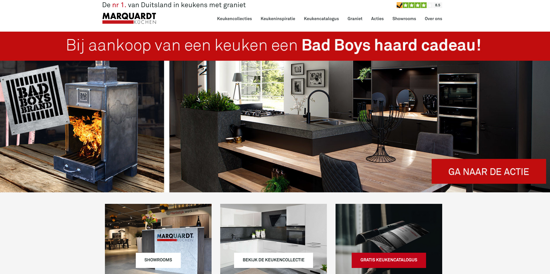 de mandemakers groep gibt mit marquardt k chen gas in. Black Bedroom Furniture Sets. Home Design Ideas