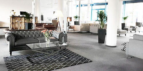 von wilmowsky er ffnete pop up sofa showroom in d sseldorf. Black Bedroom Furniture Sets. Home Design Ideas