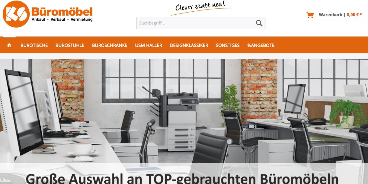 KS Büromöbel - Onlineshop für gebrauchte Büromöbel am Start ...